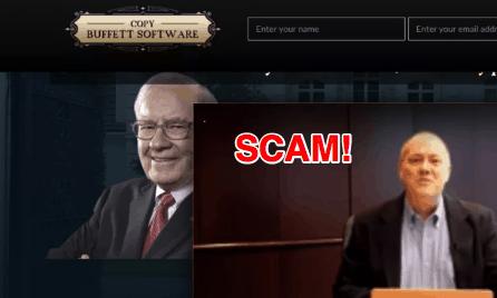 copy buffett software scam