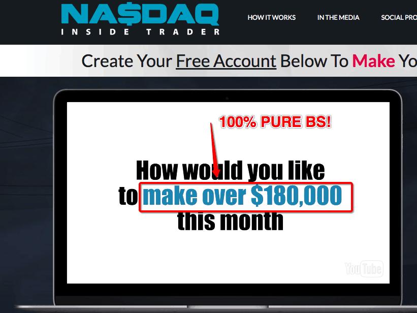 Nasdaq Inside Trader Scam - Don't Trust It! 8
