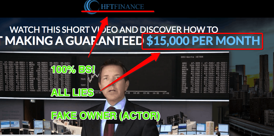 HFT Finance App Scam - Fake Software! 2