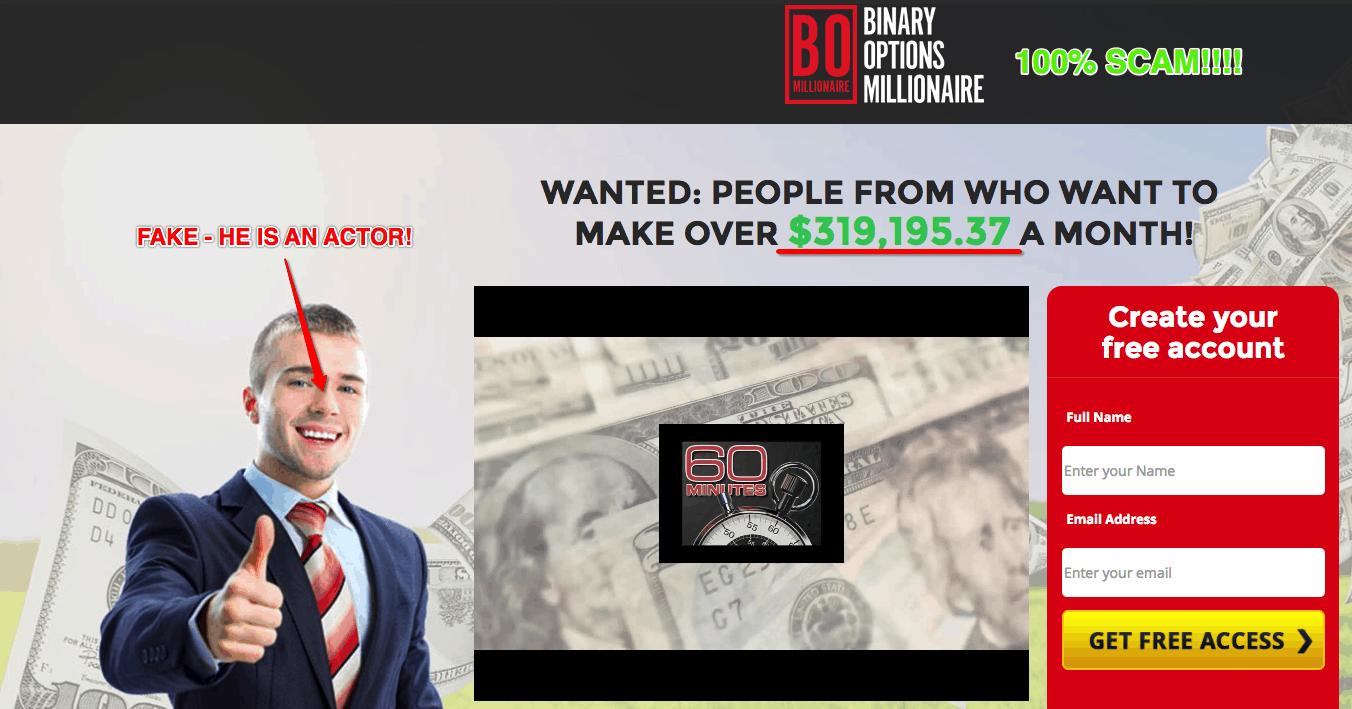 bo millionaire scam