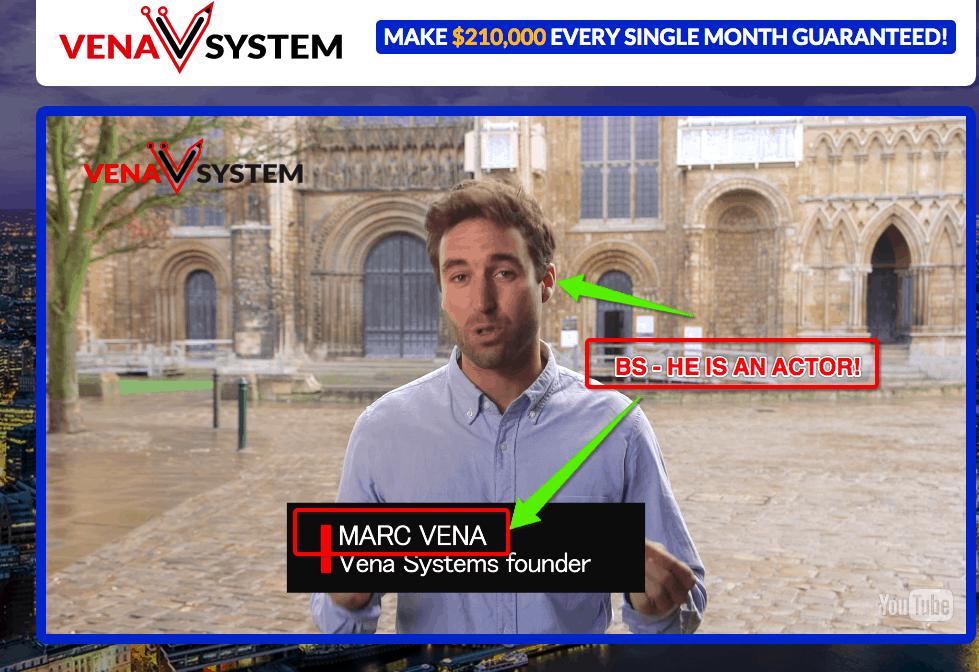 vena system software scam website