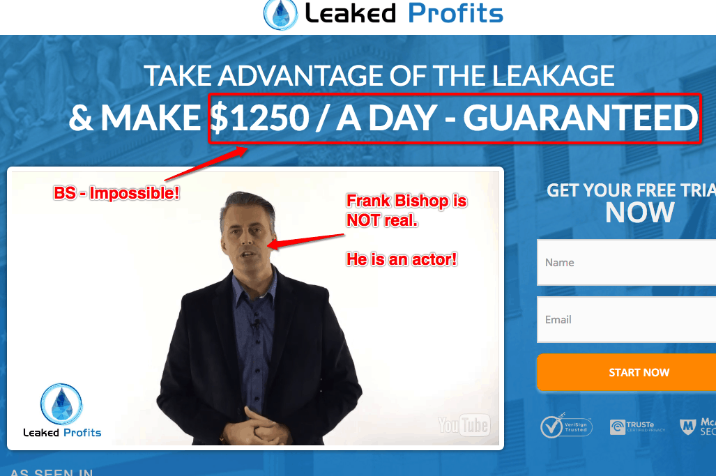 Leaked Profits Scam System - Don't Trust It! 12