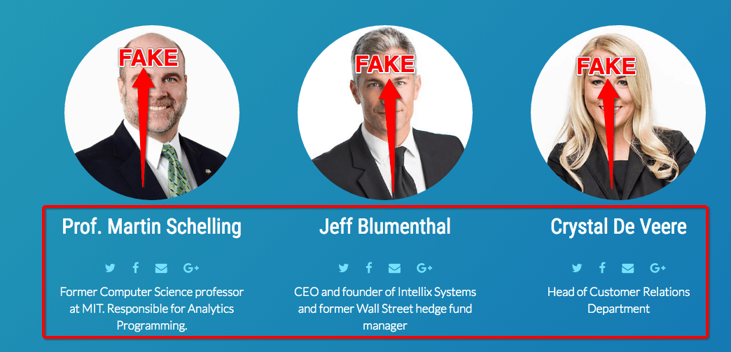 Intellix Systems fake actors