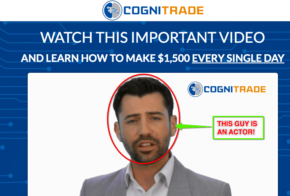 Cogni Trade fake software