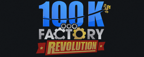 100k factory revolution logo