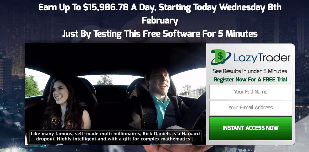 lazy trader app scam