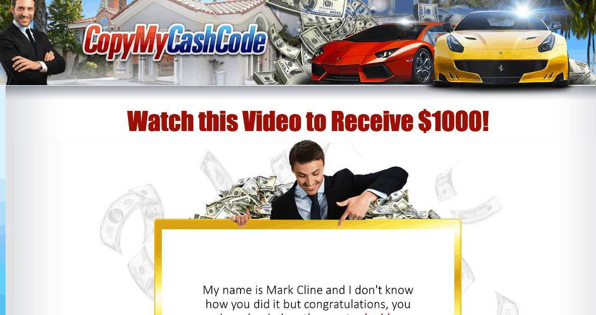 Copy My Cash Code - Complete Scam! 8