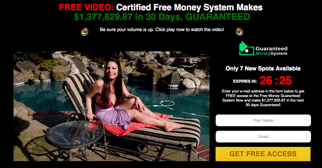 Guaranteed Money System Scam - 100% BS! 8
