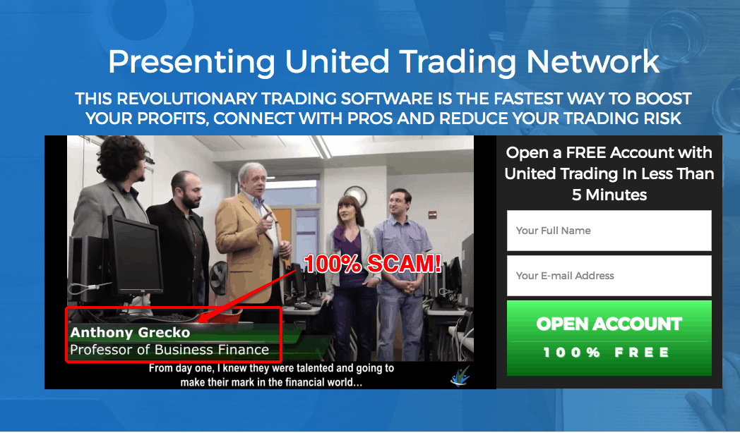 United Trading Network Scam - Fake Software! 2