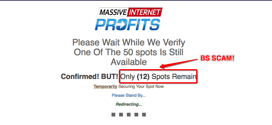 Massive Internet Profits Scam - Don't Trust BS! 2