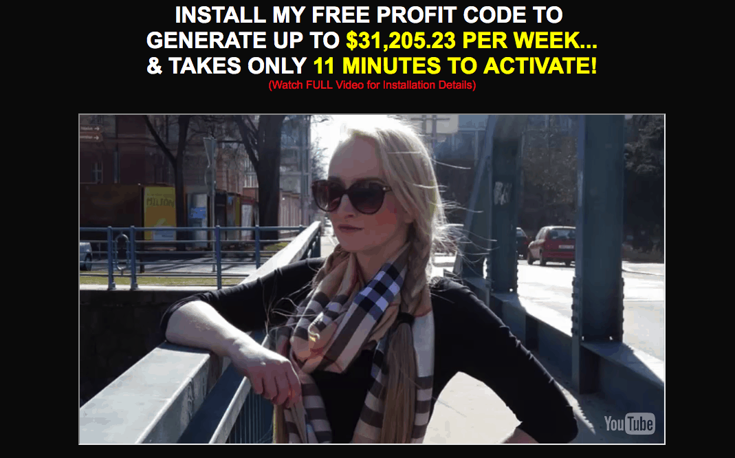Free Profit Code Scam - Don't Trust It! 10
