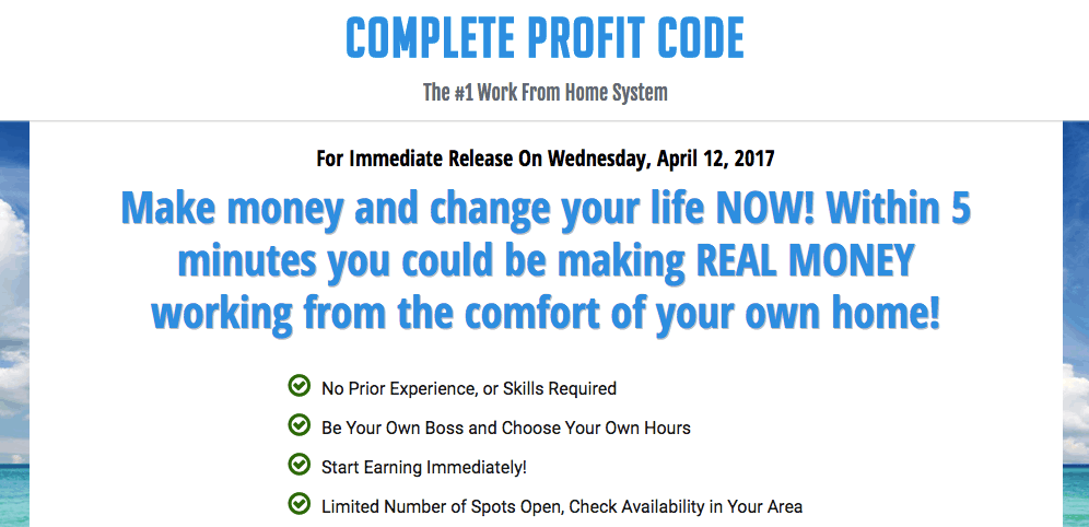 Complete Profit Code Scam - Avoid It! 10