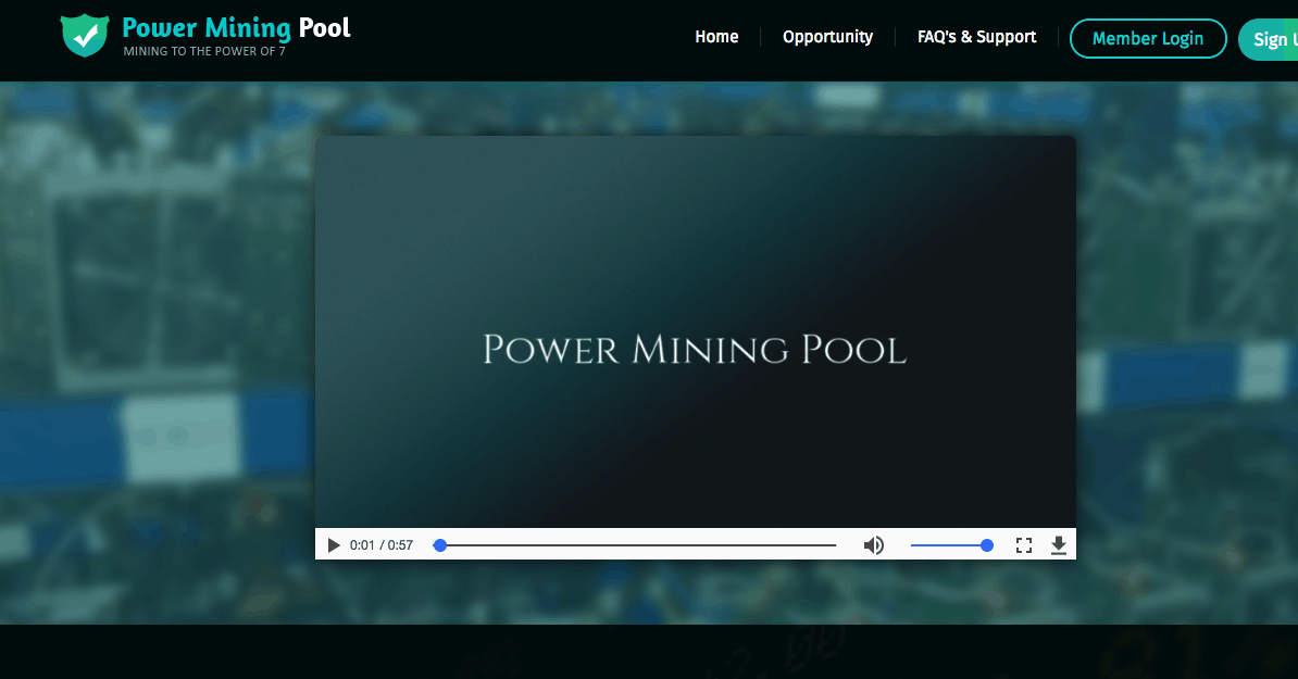 power mining pool