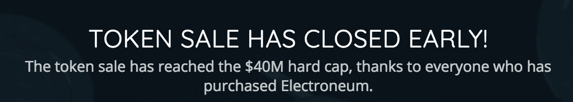 electroneum ico 40 million