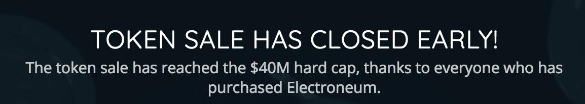 electroneum ico 40 million