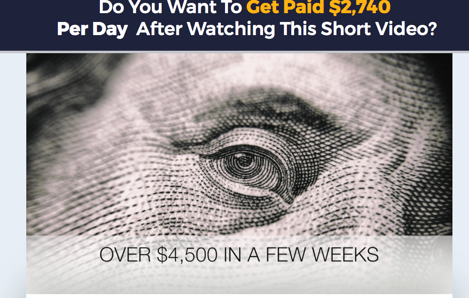 secret millionaires website