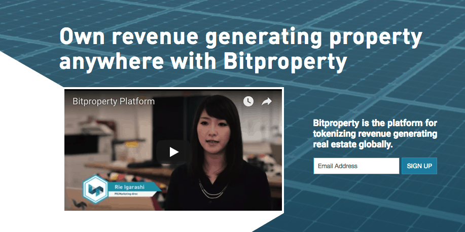 bitproperty website