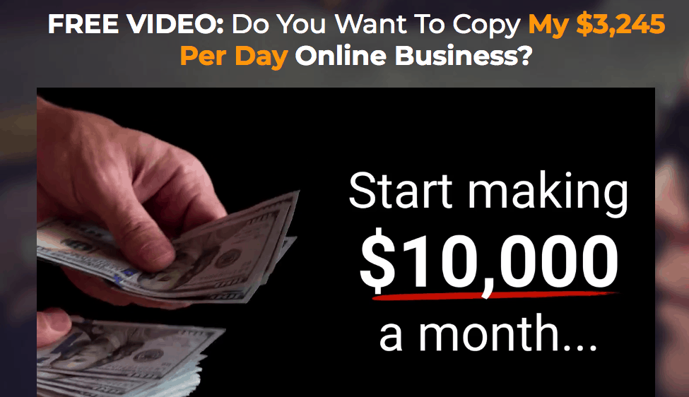 copy the millionaire website