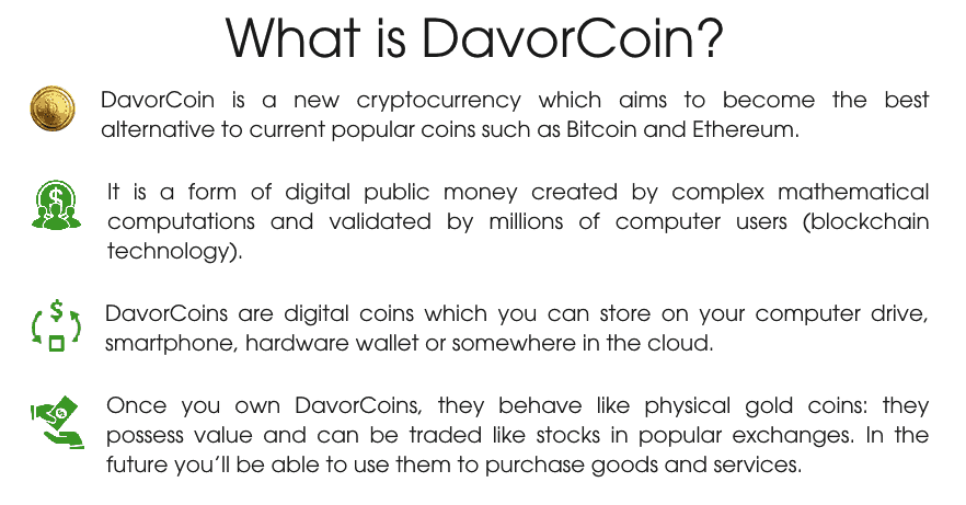 what is davorcoin