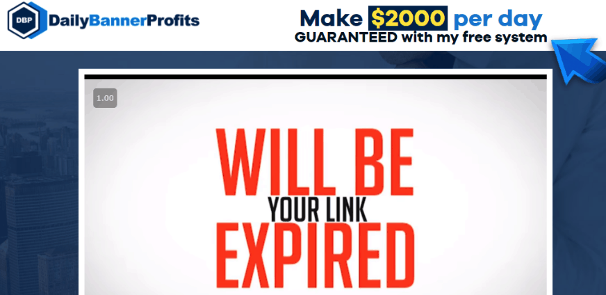 Daily Banner Profits - Scam Exposed? [Review] 8