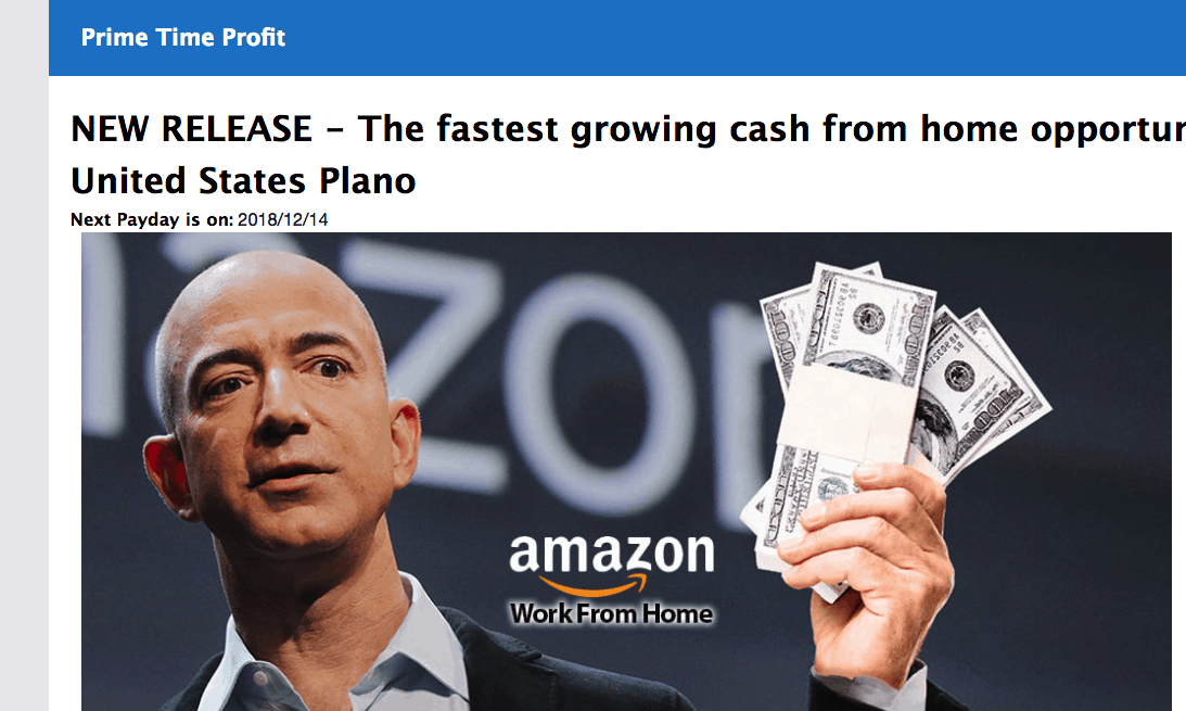 Prime Profits Payout - Amazon Scam Exposed? [Reviews]
