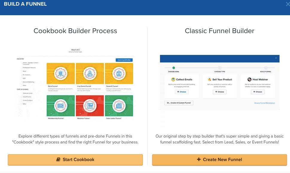 clickfunnels step 1