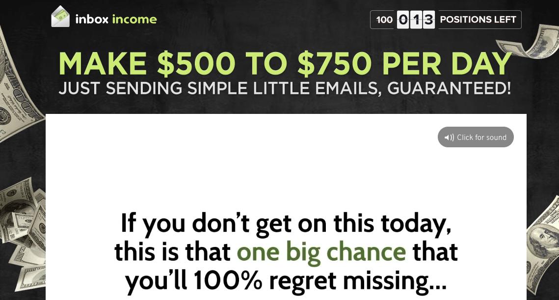 inbox income scam website