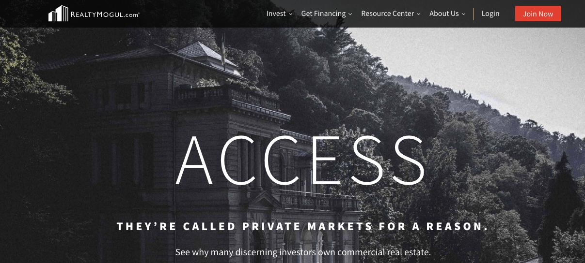 realty mogul website