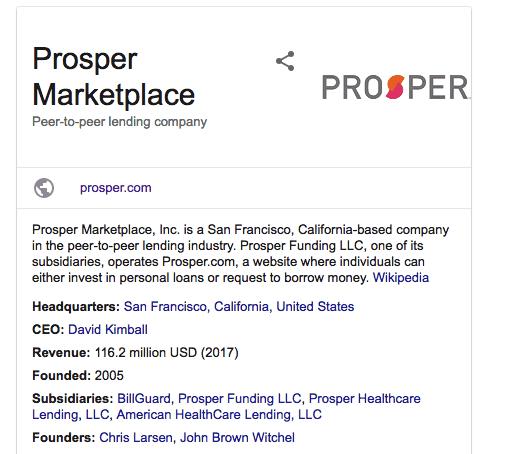 prosper info wikipedia