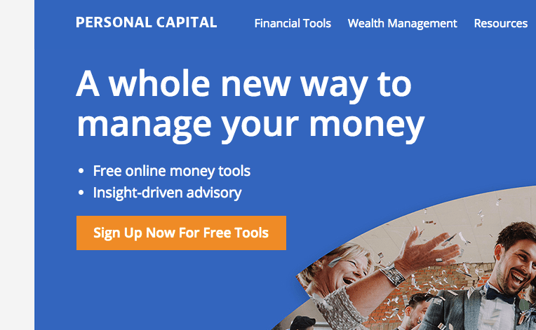 personalcapital.com website