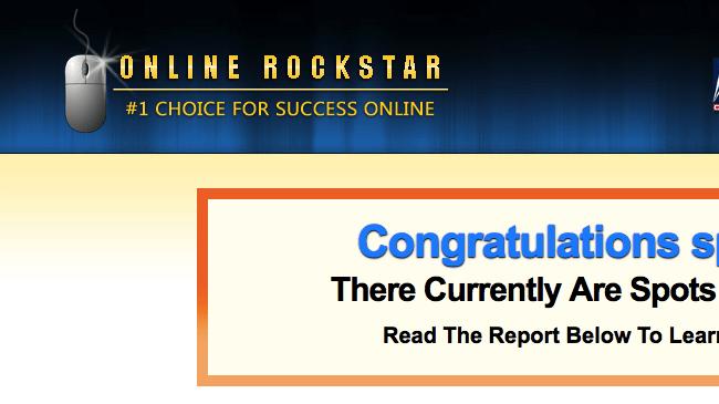 online rockstar website