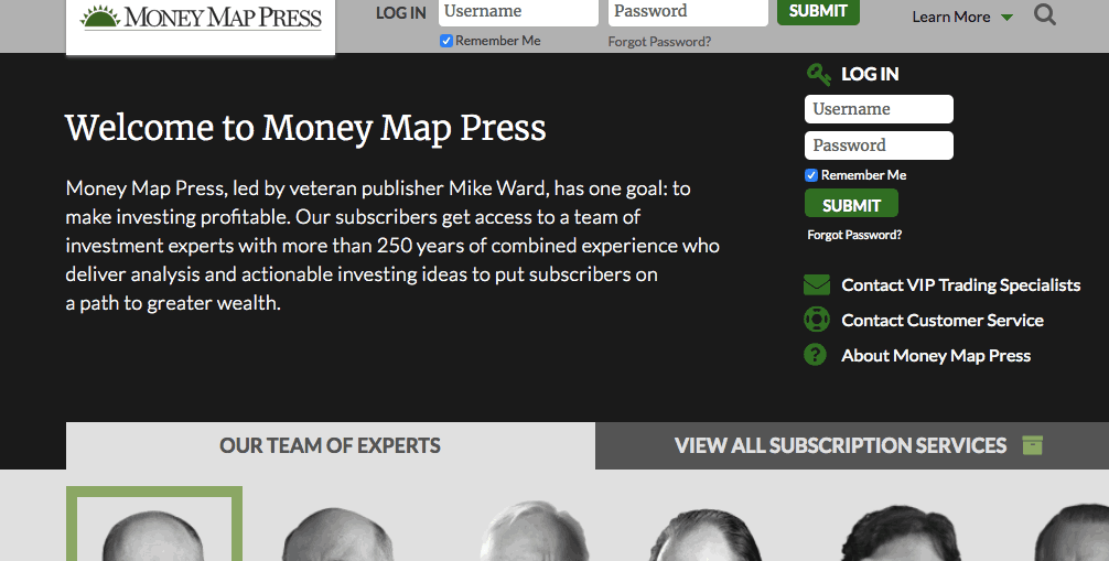Money Map Press Website