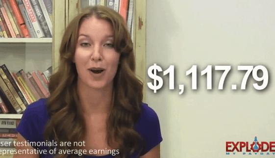 explode my payday fake testimonial