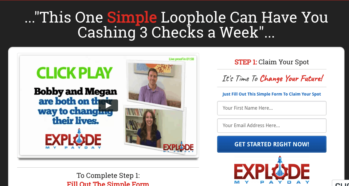 explode my payday website