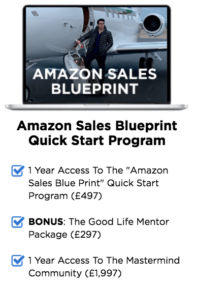 amazon sales blueprint