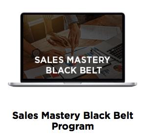 sales mastery black belt program