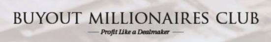 buyout millionaires club website