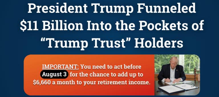 trump trust holders