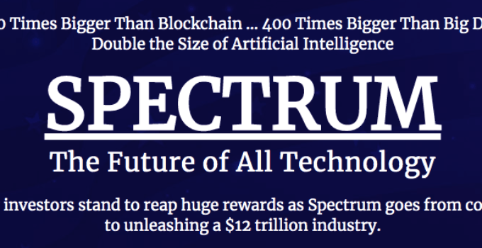 """Ian King """"Spectrum The Future Of All Technology"""" [Review] 1"""