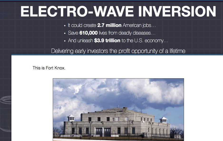 electro wave inversion website