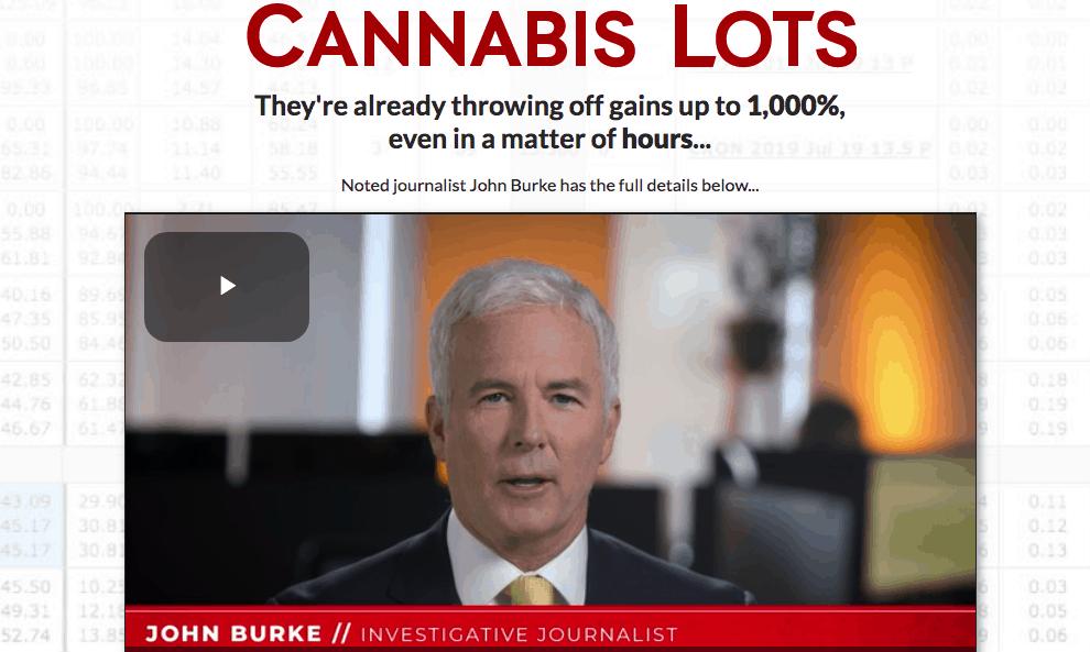 cannabis lots website