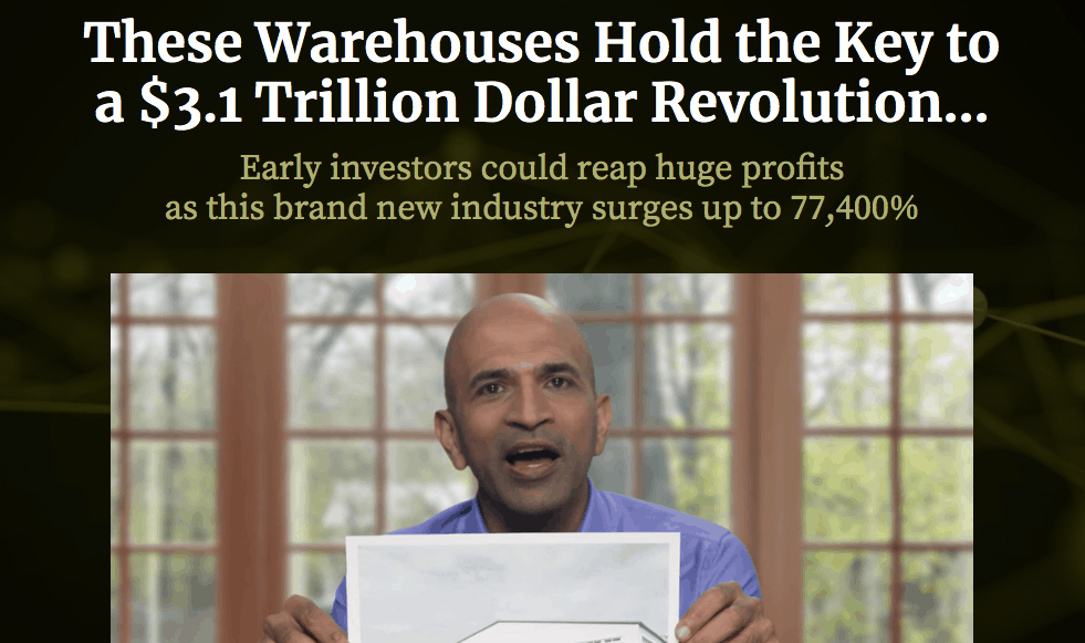 Paul Mampilly $3.1 Trillion Dollar Revolution pitch