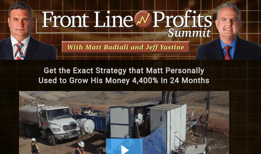 front line profits summit