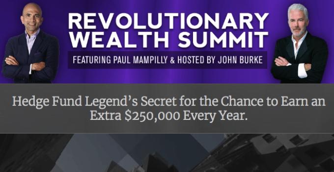 Revolutionary Wealth Summit website