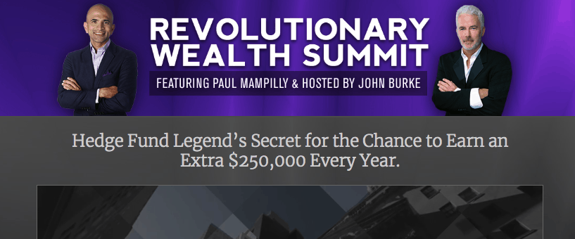 Revolutionary Wealth Summit website