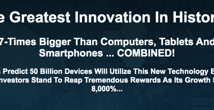 The Greatest Innovation In History