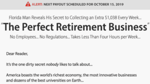 The Perfect Retirement Business - Extra $1,038 A Week? [Review] 3