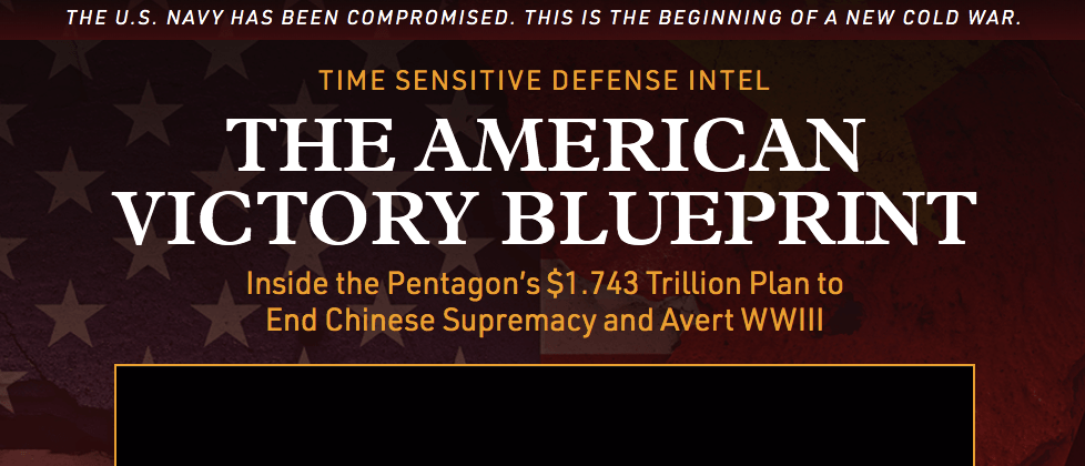 the american victory blueprint website