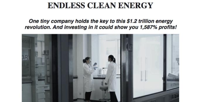 endless clean energy website