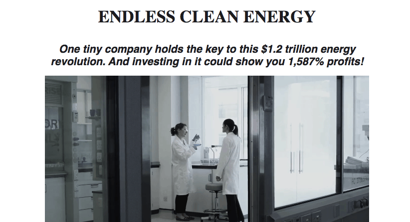 endless clean energy website